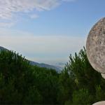 La Valle d'Itri ed il Golfo di Gaeta dal Santuario - foto Meroli N.