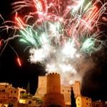 I fuochi della Civita. Spettacolo pirotecnico al castello - foto Martino A.