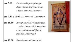 Pellegrinaggio itrano e S. Costanzo