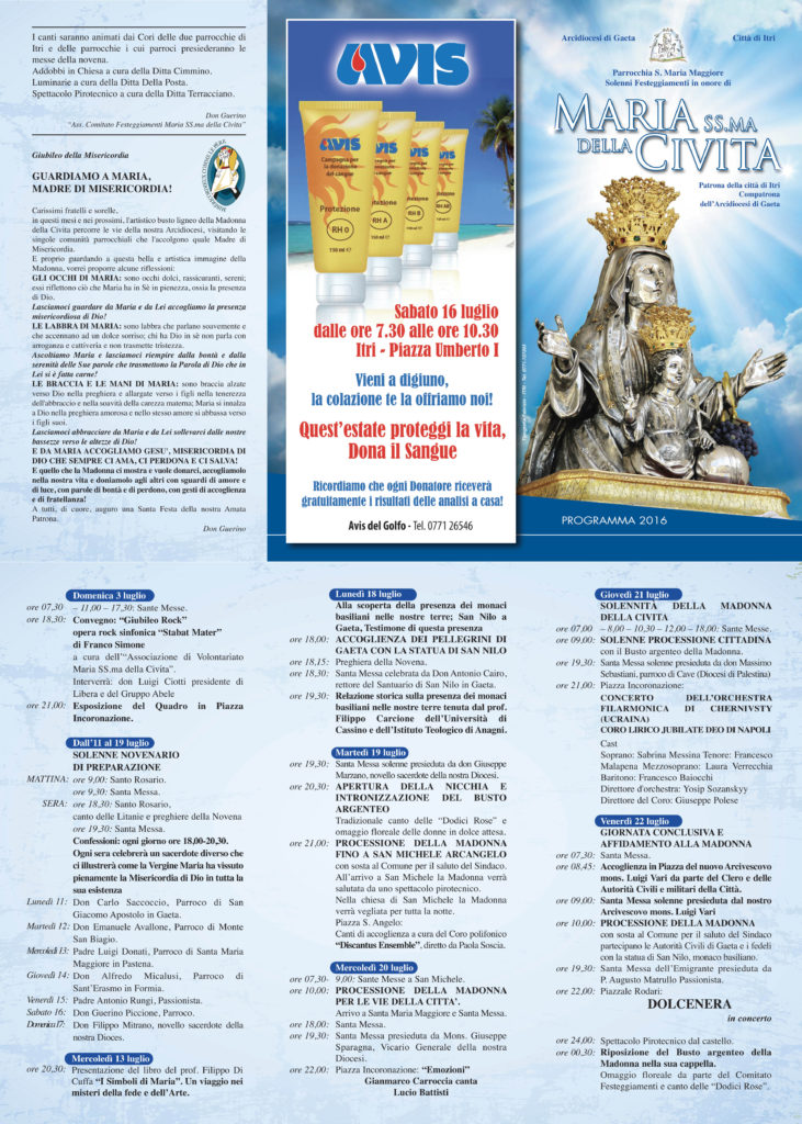 Programmino Civita 2016