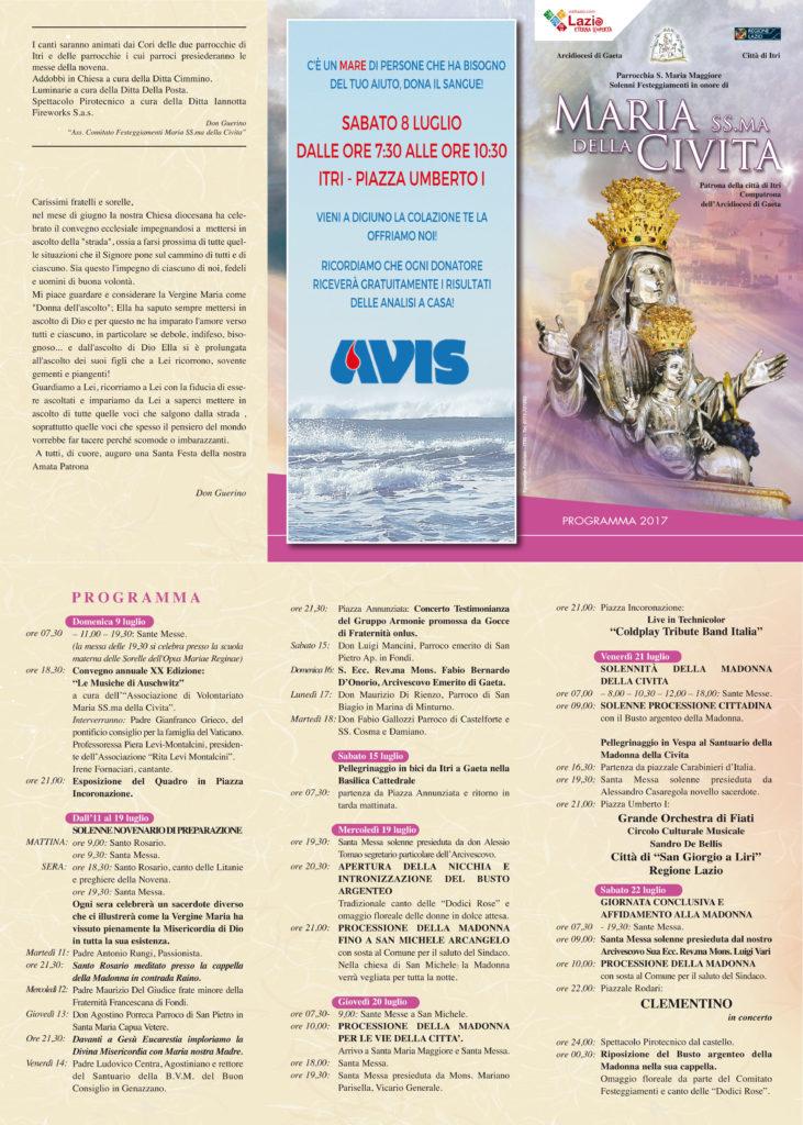 programmino Civita 2017